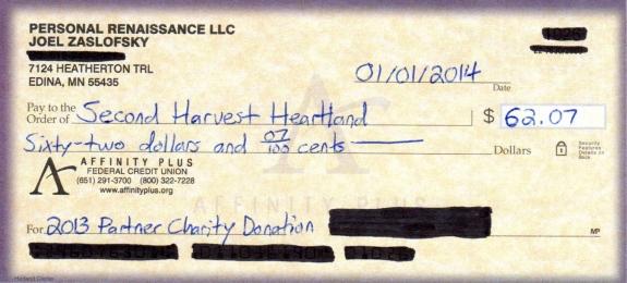Partner Charity Donation