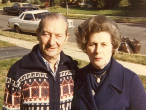 Irving and Etta Zaslofsky