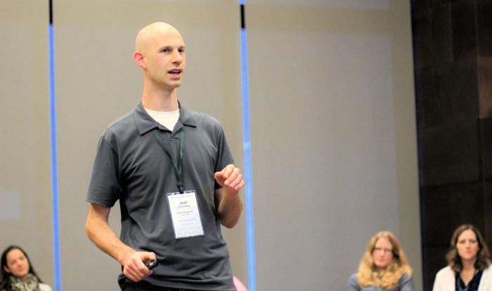 Joel Facilitating at SimpleREV 2015