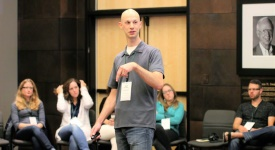 Joel Zaslofsky Facilitating at SimpleREV 2015