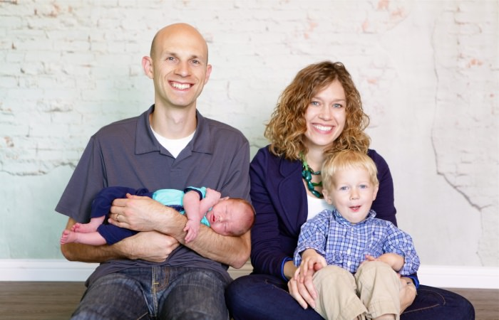 Picture of Joel Zaslofsky and Family
