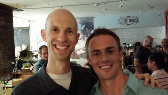 Joel Zaslofsky and Scott Dinsmore at WDS 2013
