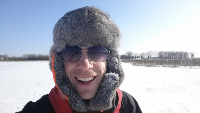 Picture of Joel, The Frozen Explorer