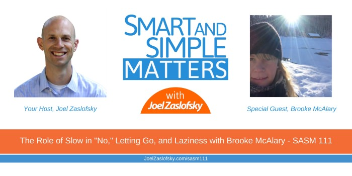 Brooke McAlary and Joel Zaslofsky Combined Picture