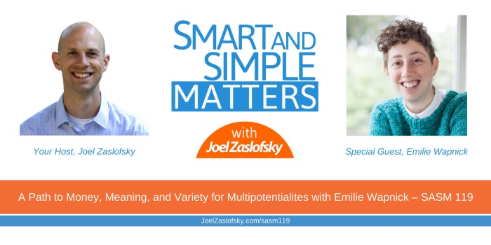 Emilie Wapnick and Joel Zaslofsky Combined Picture