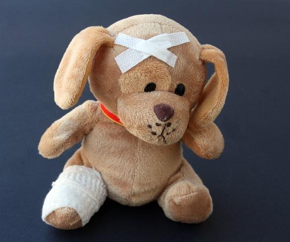 Teddy Bear Band-Aid