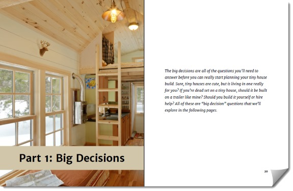 Tiny House Decisions Part 1 Sample
